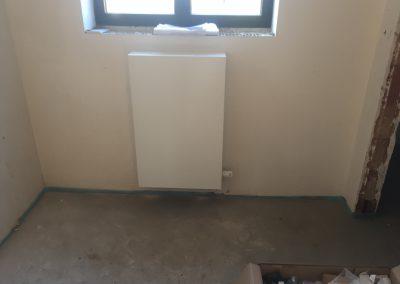 radiator met vlakke voorplaat